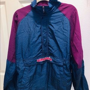 Purple & Blue Small Umbro Windbreaker!